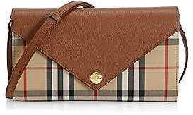 Burberry Women's Hannah Vintage Check Wallet-On-Strap