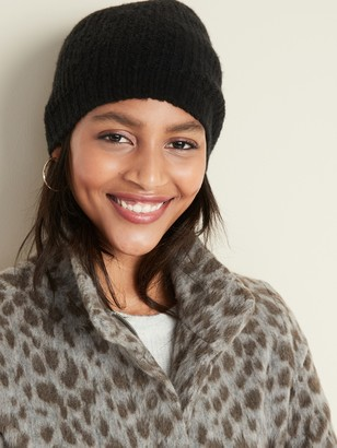 Old Navy Soft-Brushed Shaker-Stitch Beanie for Women