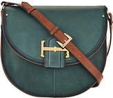 Tignanello Vintage Leather Loredo Saddle Crossbody