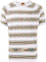 Missoni multi-stripe T-shirt - men - Cotton - 52