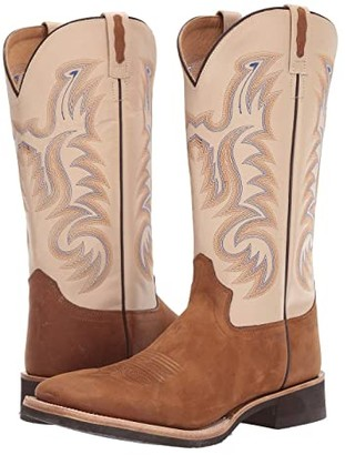 Old West Boots Trail Dust (Light Brown) Cowboy Boots