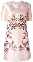 Stella McCartney embroidered floral design dress