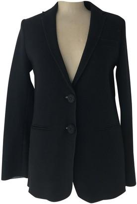 Maliparmi Black Wool Jacket for Women