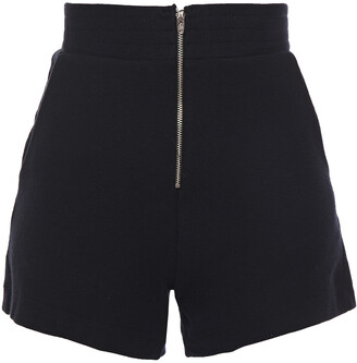 Enza Costa Cotton And Cashmere-blend Jersey Shorts