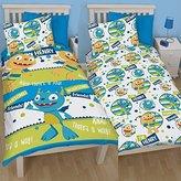 Disney Henry Hugglemonster Roarsome Single Reversible Rotary Duvet Cover Bed Set New Gift (HHMR1)