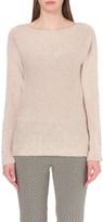 Etro Metallic-knit cashmere and silk-blend jumper