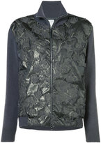 Fabiana Filippi embellished zip up fitted jacket