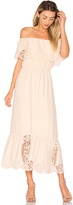 Nightcap Clothing Lily Dress in Peach. - size 1 (also in 3)