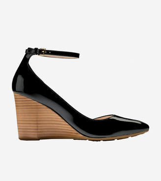 Cole Haan Lacey Ankle Strap Wedge (85mm)