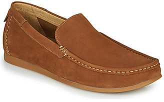 Hush Puppies SMALT men's Loafers / Casual Shoes in Brown