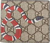 Gucci Beige Snake GG Wallet