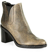 Alexander Wang Irina Distressed Leather Ankle Boots