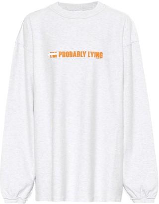 Vetements Cotton sweatshirt