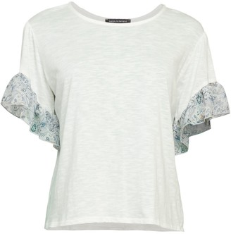 Supply & Demand Ruffle-Trim T-Shirt