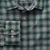 Charles Tyrwhitt Classic fit green check heather shirt