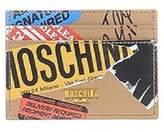 Moschino Package Leather Card Case