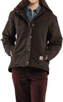 Carhartt Sandstone Berkley Jacket - Sherpa-Lined (For Women)