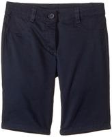 Nautica Five-Pocket Sateen Bermuda Shorts Girl's Shorts