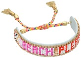 Rebecca Minkoff Beach Please Seed Beaded Friendship Bracelet Bracelet