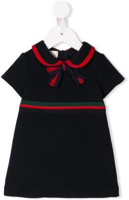 Gucci Kids Formal Ribbon Dress