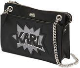 Karl Lagerfeld K Pop Faux Leather Shoulder Bag