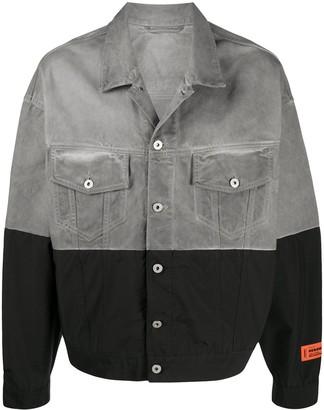 Heron Preston Two-Tone Denim Jacket