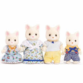 International Playthings Calico Critters of Cloverleaf Corners Silk Cat Family