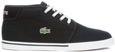 Lacoste Ampthill Lcr 2 Canvas Chukka Trainers Black