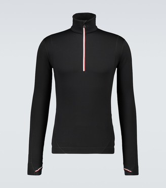 MONCLER GRENOBLE Half-zipped performance top