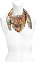 Christian Lacroix Delicias Mundi silk square 70x70