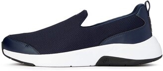 Care of by PUMA Men's Slip On Runner Black (Black- White) 7 UK