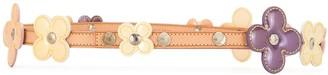 Louis Vuitton 2002 Pre-Owned Flower Embellished Belt