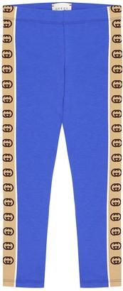 Gucci Kids Stretch-cotton leggings