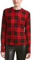 Zadig & Voltaire Crisp Print Deluxe Cashmere Sweater.