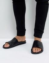 Aldo Afivia Leather Mule Slider Sandals