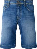 Jacob Cohen washed denim shorts - men - Cotton/Polyester/Spandex/Elastane - 33