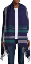 MIXIT Mixit Plaid Armhole Blanket Wrap