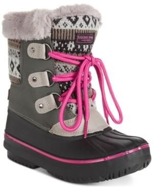 London Fog Little & Big Girls Tottenham Snow Boots