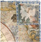 Faliero Sarti printed scarf - unisex - Silk/Cotton/Modal - One Size