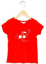 Bonpoint Girls' Cherry Print T-Shirt