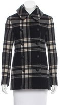Ralph Lauren Wool Plaid Coat