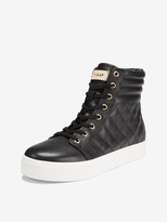 DKNY Brea Quilted High Top Sneaker