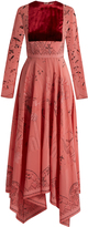 Valentino Jungle of Delight-print silk gown
