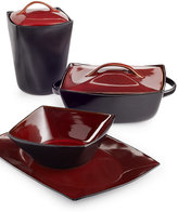 Gibson Signature Living Barcelona Red Serveware Collection