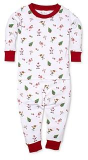 Kissy Kissy Unisex Holiday Print Tee & Pants Pajama Set - Baby