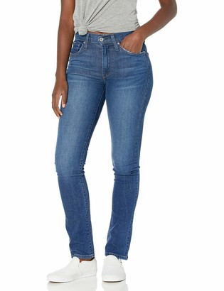 James Jeans Women's Hunter Flat High Rise Straight Leg in Victory 26