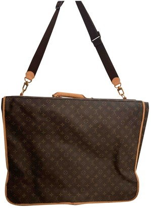 Louis Vuitton Garment Other Cloth Travel bags