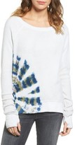 Pam & Gela Women's Inside Out Sweatshirt