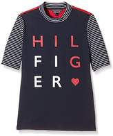 Tommy Hilfiger Girl's T-Shirt - Blue -