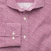 Charles Tyrwhitt Extra slim fit pink all over spot print shirt